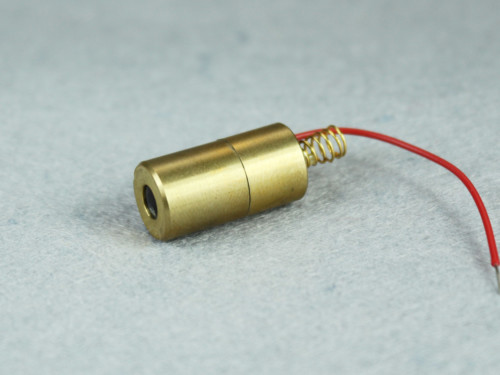 TTL Modulated 635nm 0.4mW Red Dot Laser Module with Class I