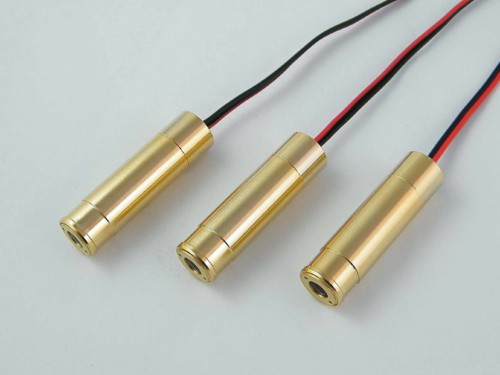 120mW 405nm Blue Line Laser Module Even Energy Distribution Powell Lens Design