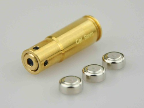 9mm Laser Bore Sight Chamber-In Cartridge Laser Bore Sighter 9mm Boresighter with FDA